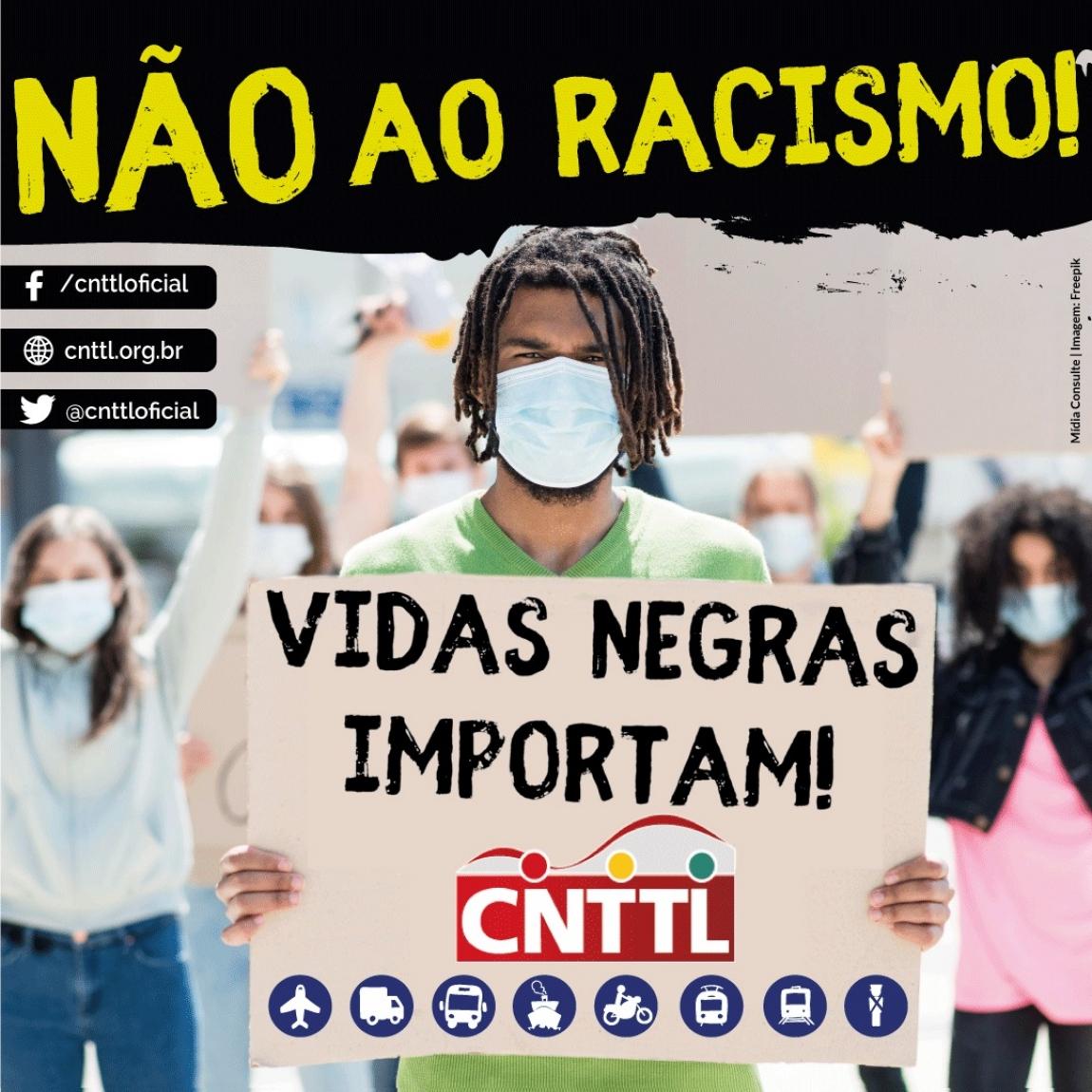 Imagem de CNTTL orienta entidades filiadas a apoiarem bandeiras antifascistas e antirracistas nas lutas sindicais