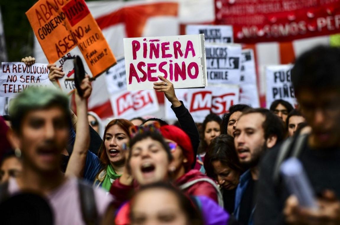 Imagem de FUTAC, UIS, FSM e CONUTT expressam apoio à luta dos chilenos e condenam repressão
