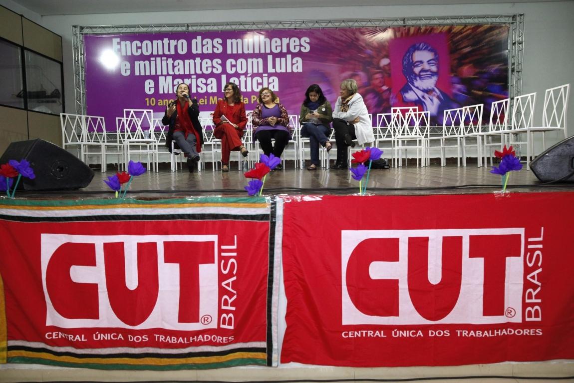 Imagem de Mulheres cutistas ressaltam conquistas durante o governo Lula e rechaçam Temer