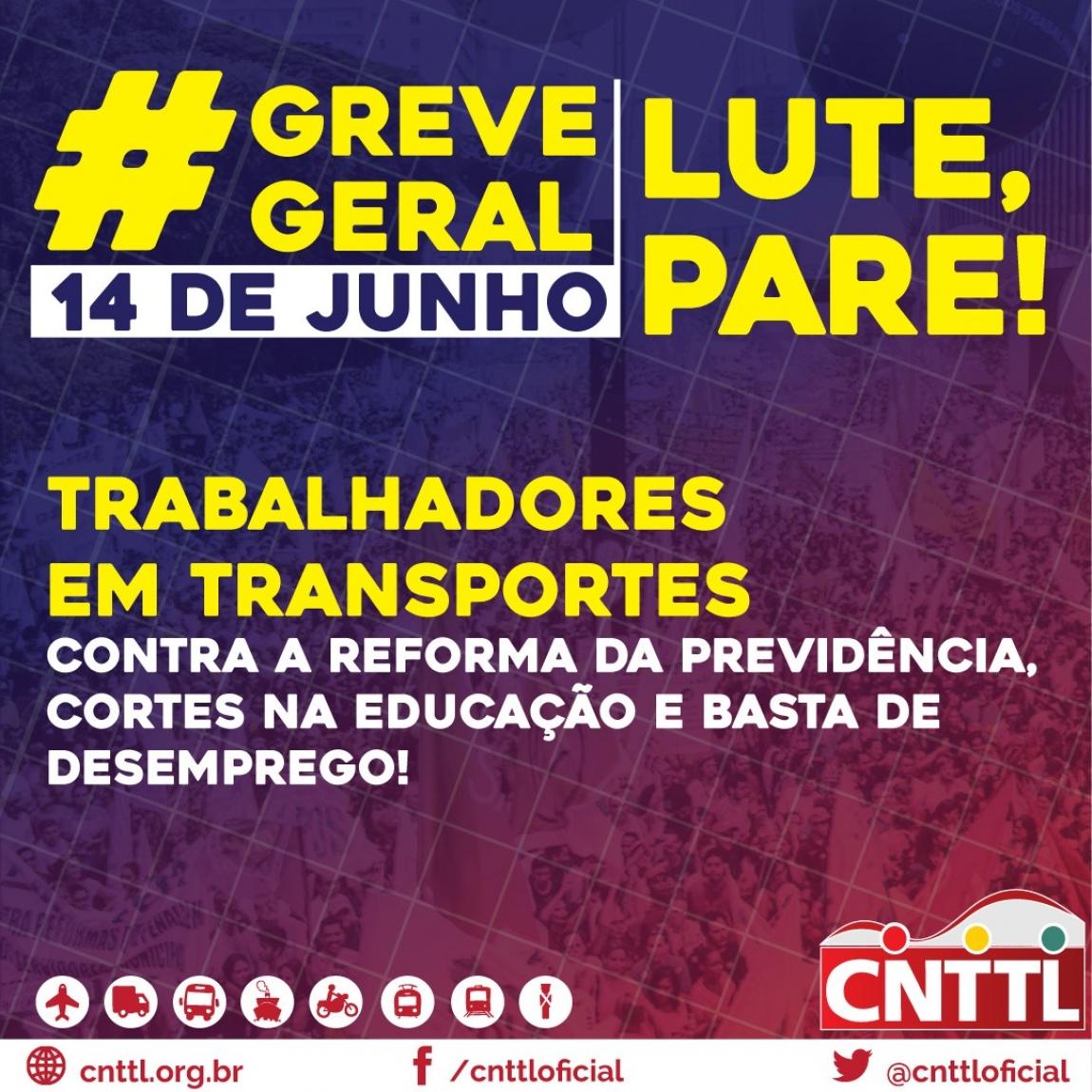 Imagem de Setor do transporte de SP fará coletiva de imprensa sobre a greve geral nesta segunda-feira (10)