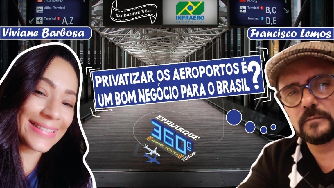 Imagem de Presidente do SINA fala sobre as consequências para Brasil da venda dos aeroportos brasileiros