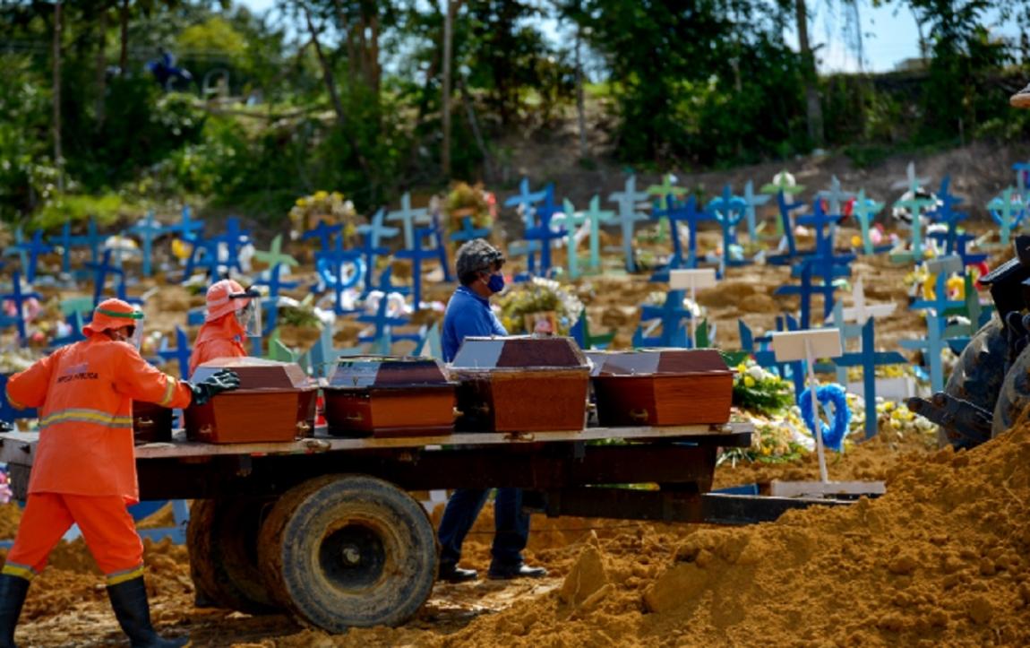Imagem de Brasil tem 1.110 mortes por covid-19 em 24 horas. Cidades se aproximam do colapso