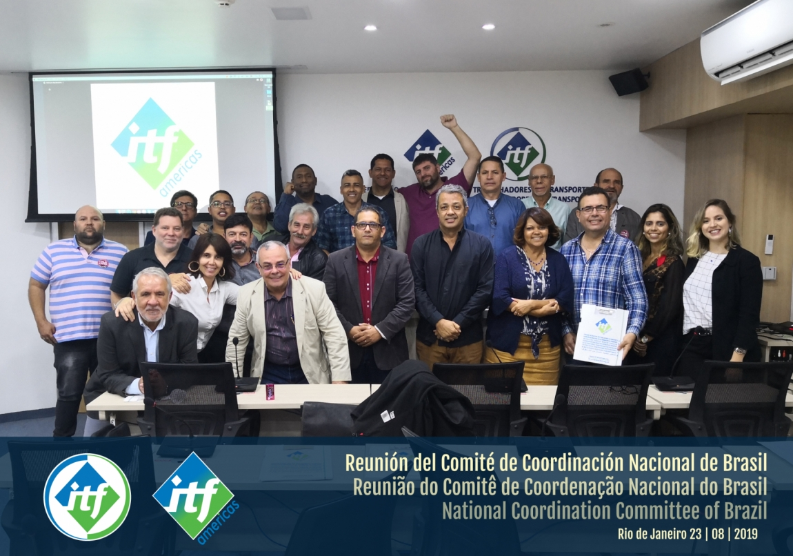 Imagem de RJ: CNTTL participa de reunião da ITF para debater estratégias de mobilização dos trabalhadores em transportes