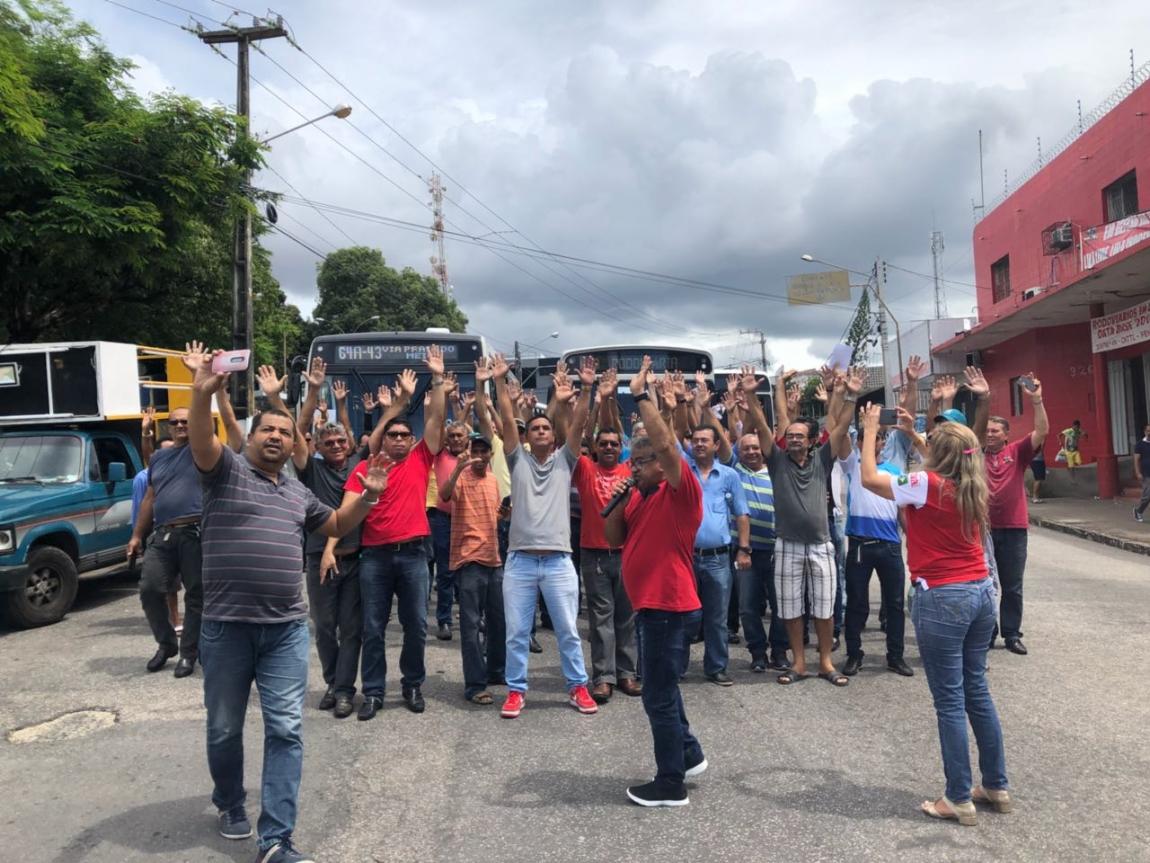 Imagem de  Natal: Rodoviários rejeitam proposta patronal e seguem na luta por reajuste salarial decente e preservação dos direitos