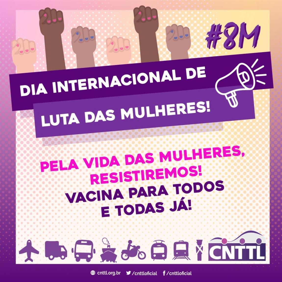 Imagem de 8 de março: Dia Internacional de Luta das Mulheres