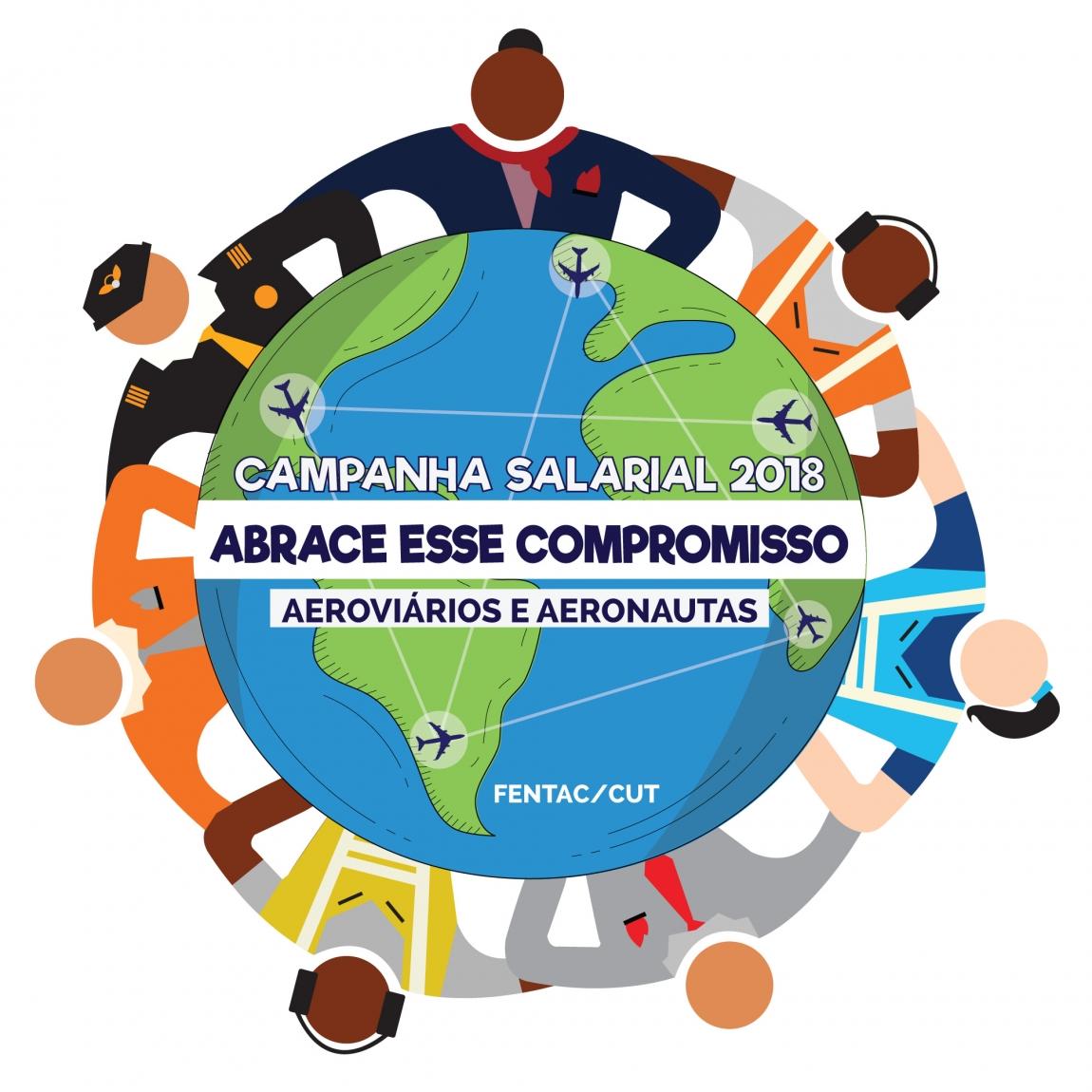 Imagem de Campanha Salarial Aviação: Aeroviários de Pernambuco, Guarulhos, Porto Alegre e Nacional rejeitam segunda contraproposta das empresas aéreas