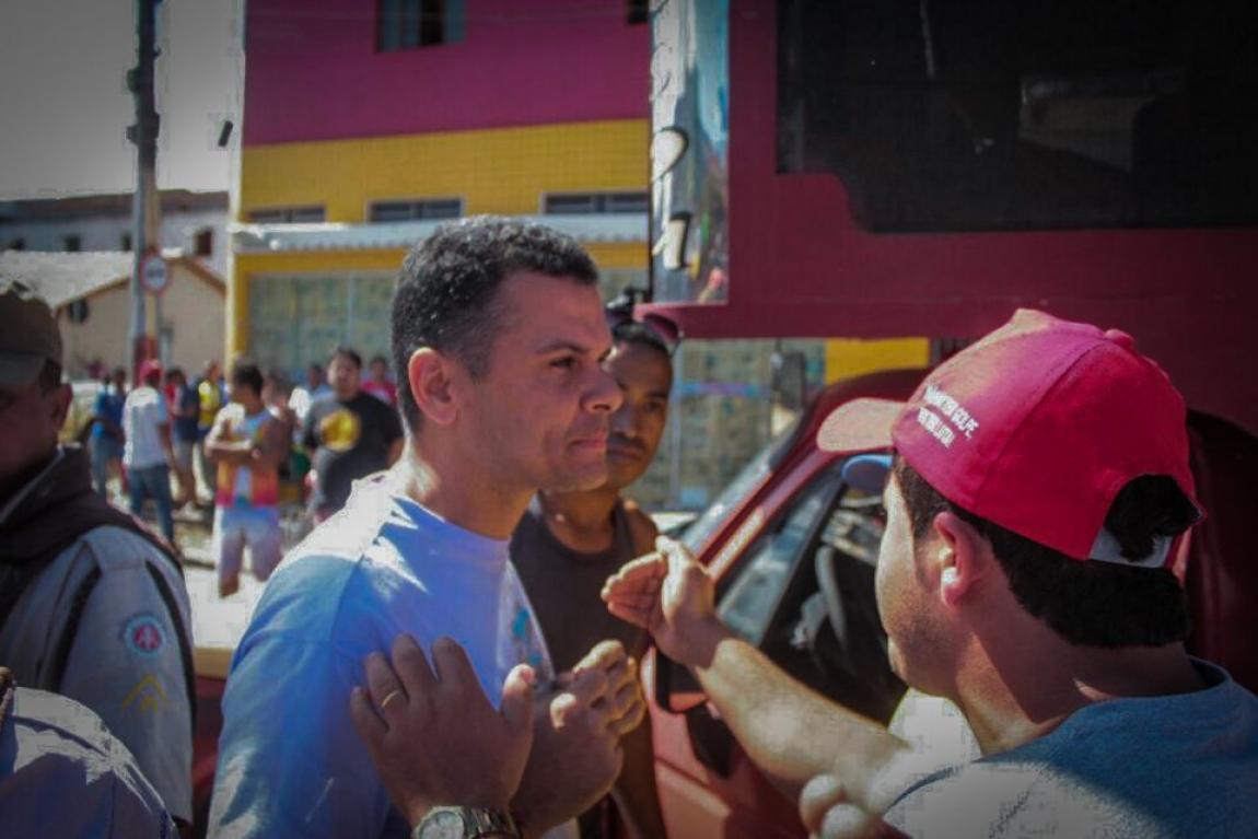 Imagem de Bahia: Em marcha contra o governo golpista, educadores sofrem  abuso de poder e truculência