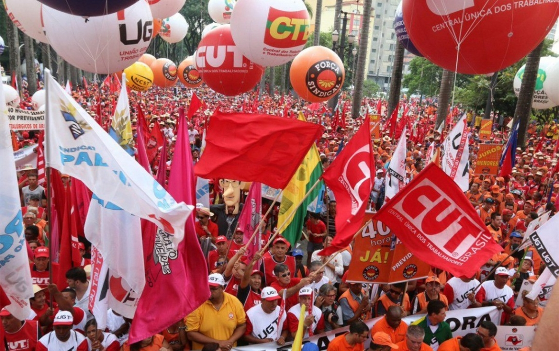 Imagem de Centrais farão protesto em 7 de agosto contra 'descaso' do governo e crise econômica e social