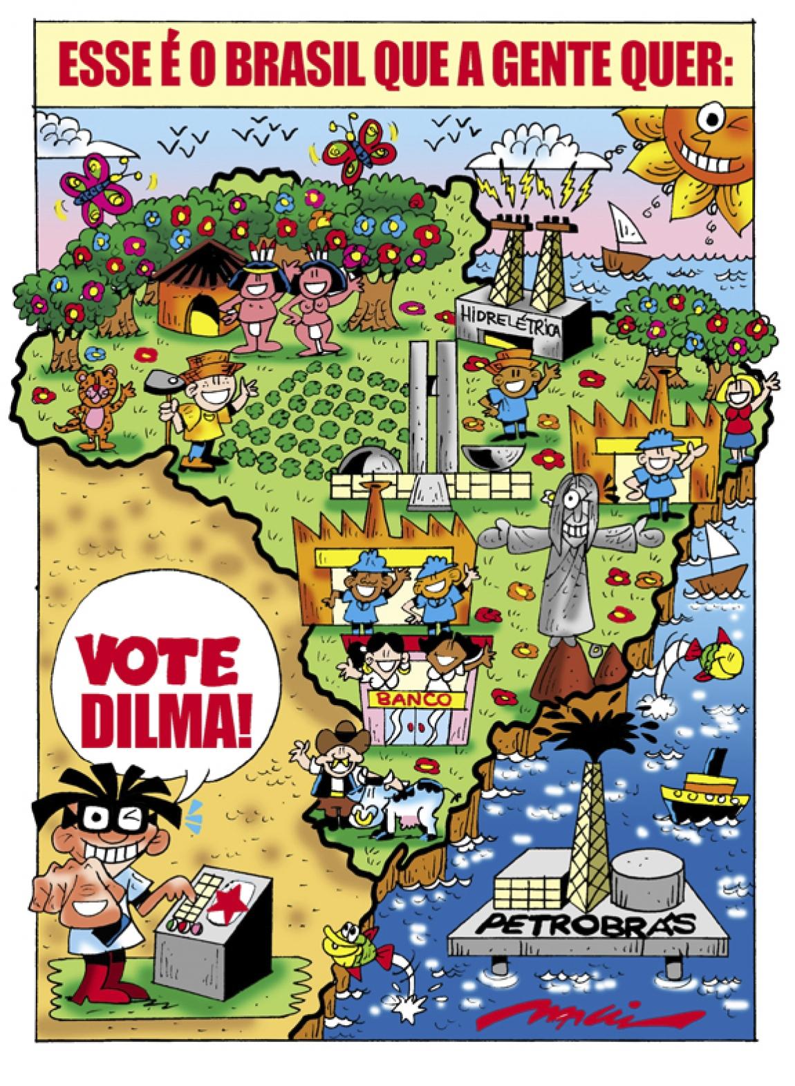 Imagem de Governo Lula e Dilma deu goleada na gestão tucana