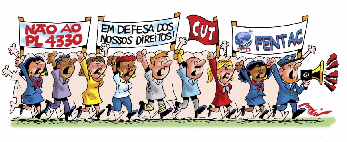Imagem de 29 de maio: Aeronautas, aeroviários e aeroportuários farão ato no aeroporto Salgado Filho