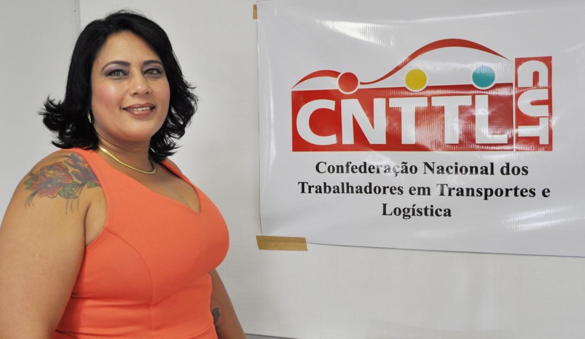 Imagem de Cleide representará ramo do transporte na 4ª Conferência Nacional de Políticas para as Mulheres