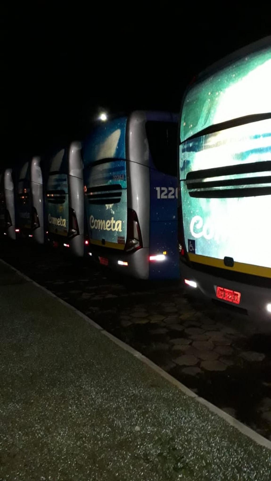 Imagem de #DiadoBasta Garagens de ônibus em Sorocaba e região estão 100% paradas