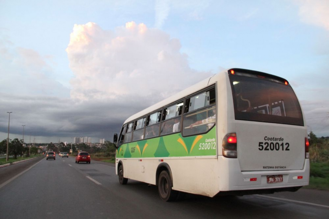 Imagem de Brasília: Rodoviários das cooperativas voltam a circular