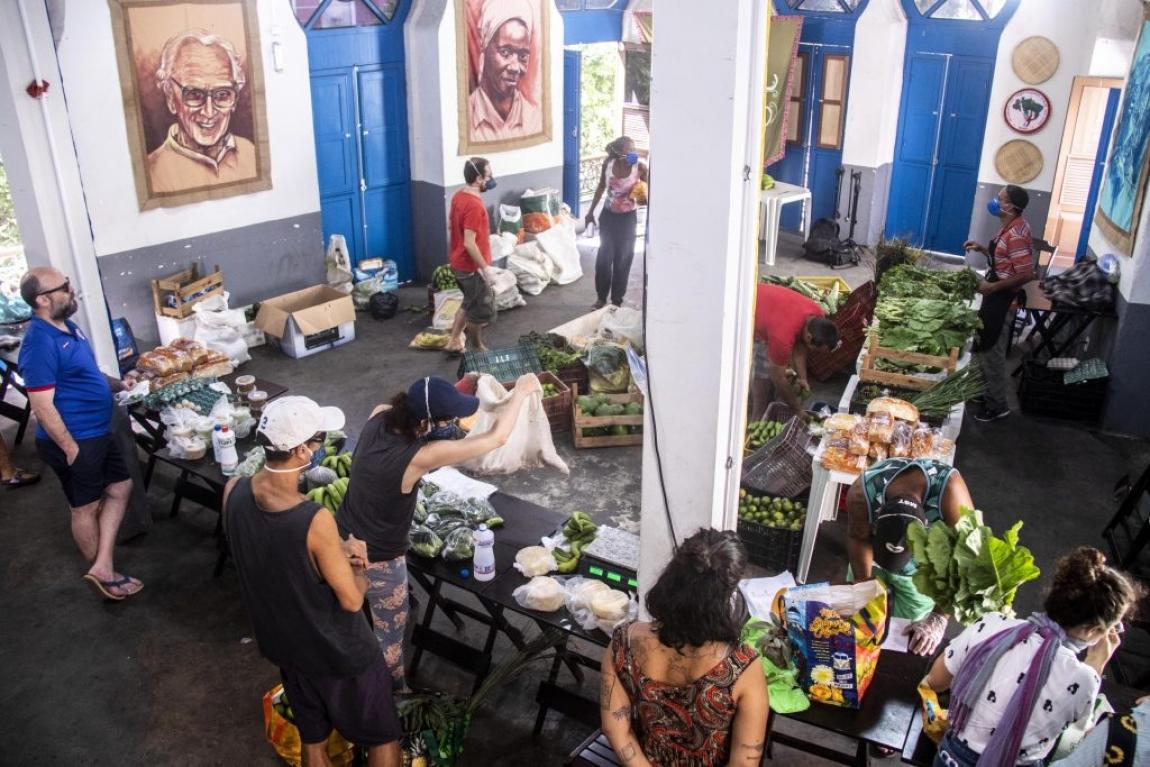 Imagem de RJ: Venda de cestas da Reforma Agrária fortalece ações de combate ao coronavírus