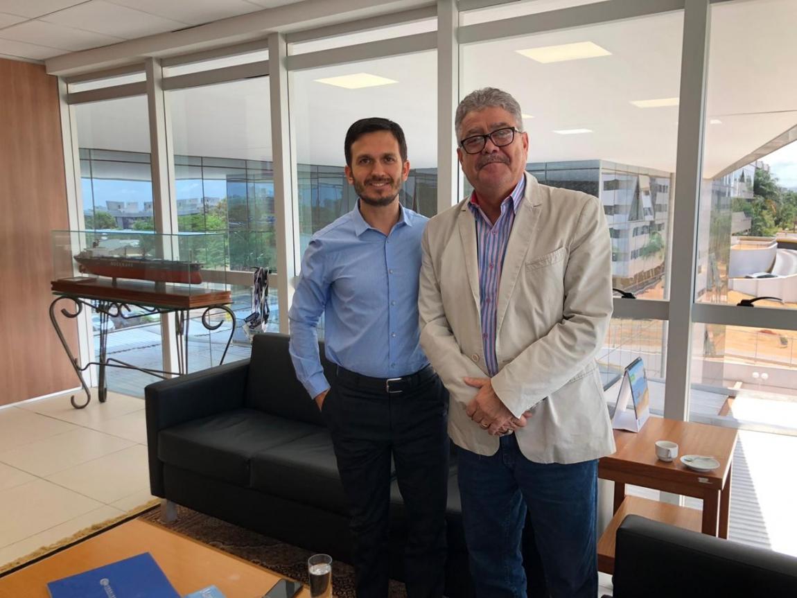 Imagem de Portus: Secretário Nacional de Portos conversa com Federação Nacional dos Portuários
