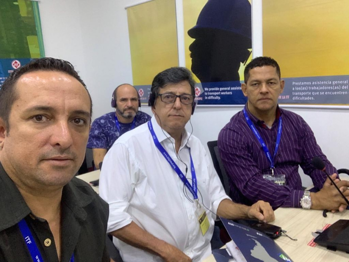 Imagem de RJ: CNTTL participa de encontro da ITF para debater estratégicas de fortalecimento da luta dos trabalhadores em transportes no Brasil, América Latina e Caribe