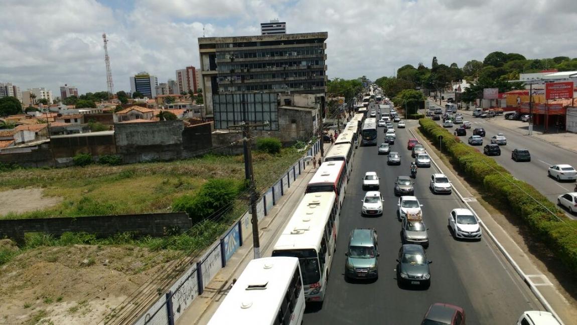 Imagem de  #PreparaGreveGeral: Rodoviários no Alagoas param contra Reforma da Previdência e do Trabalhista