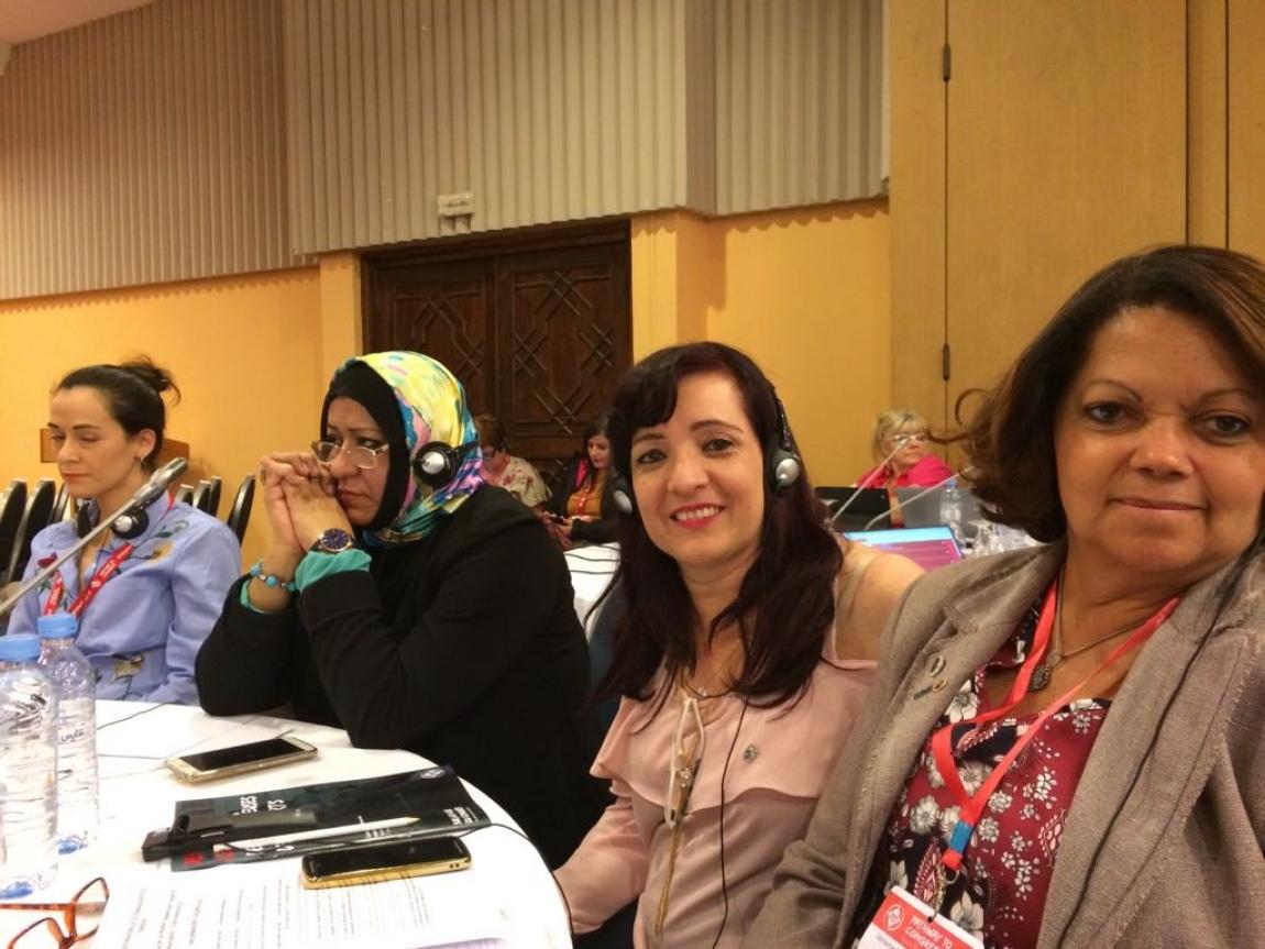 Imagem de Marrocos: Secretária da Mulher na CNTTL participa de Conferência Mundial das Trabalhadoras em Transportes da  ITF