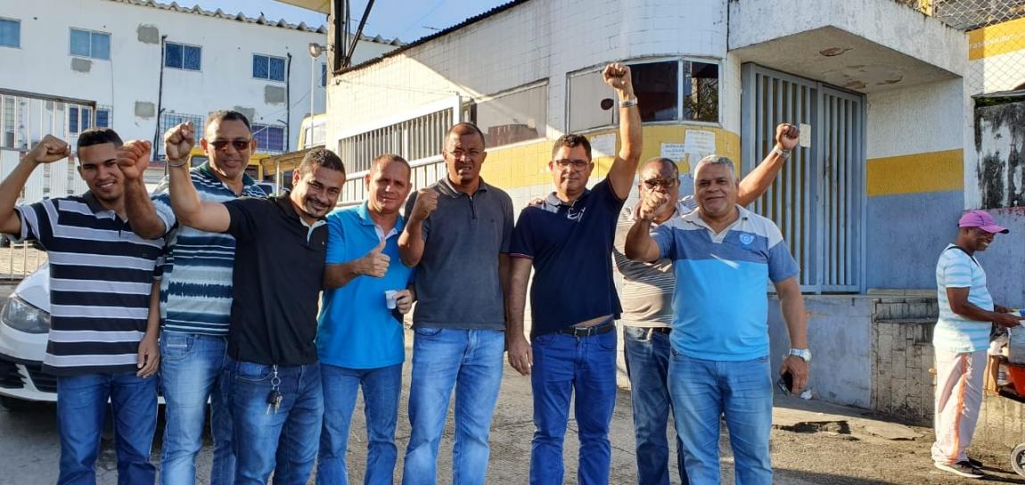 Imagem de #GreveGeral14J Dirigentes dos Rodoviários da Bahia apoiam paralisação