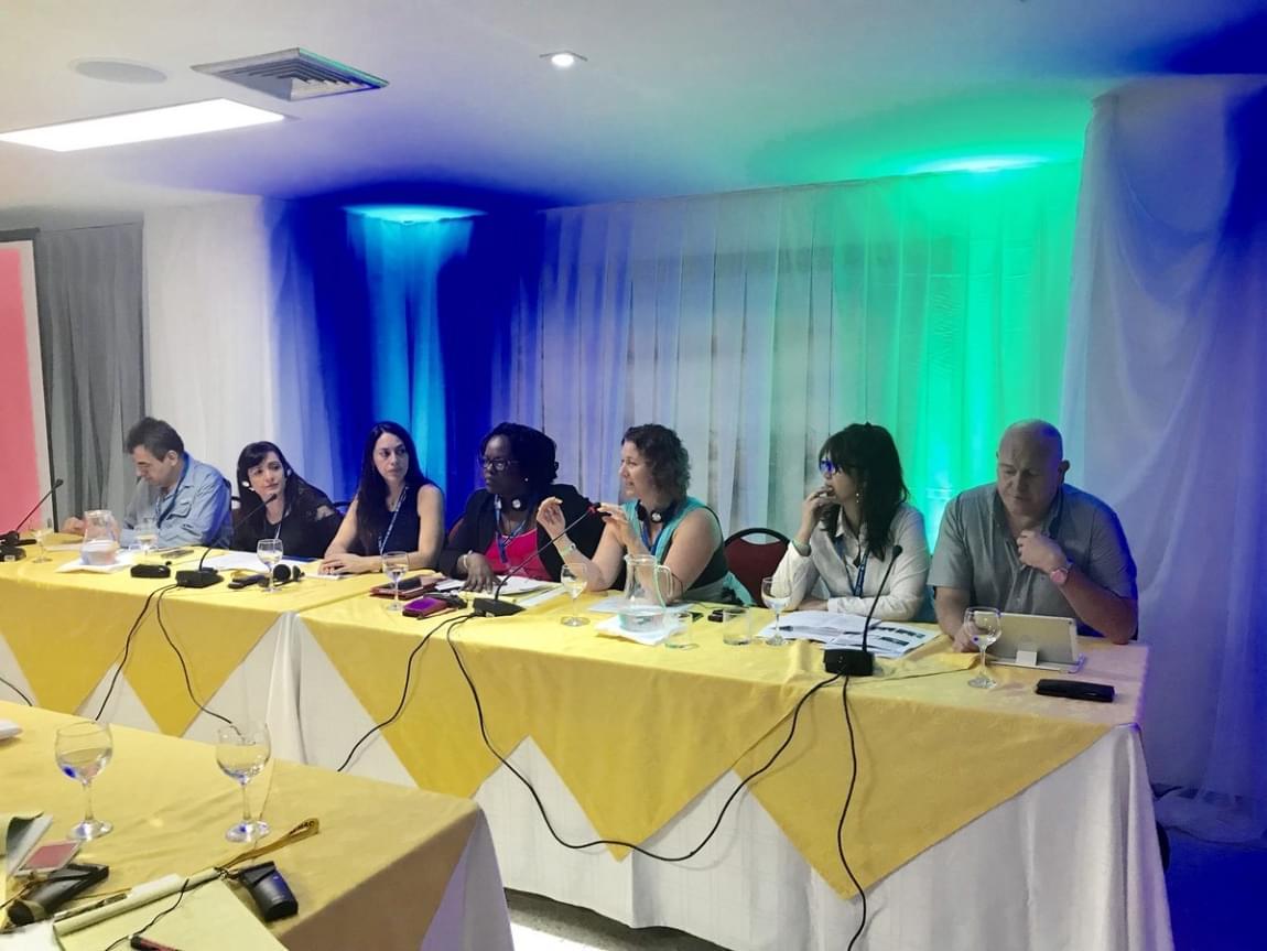 Imagem de Cartagena: Comitê Regional da ITF debate maior inclusão das mulheres nos sindicatos e elege nova representação