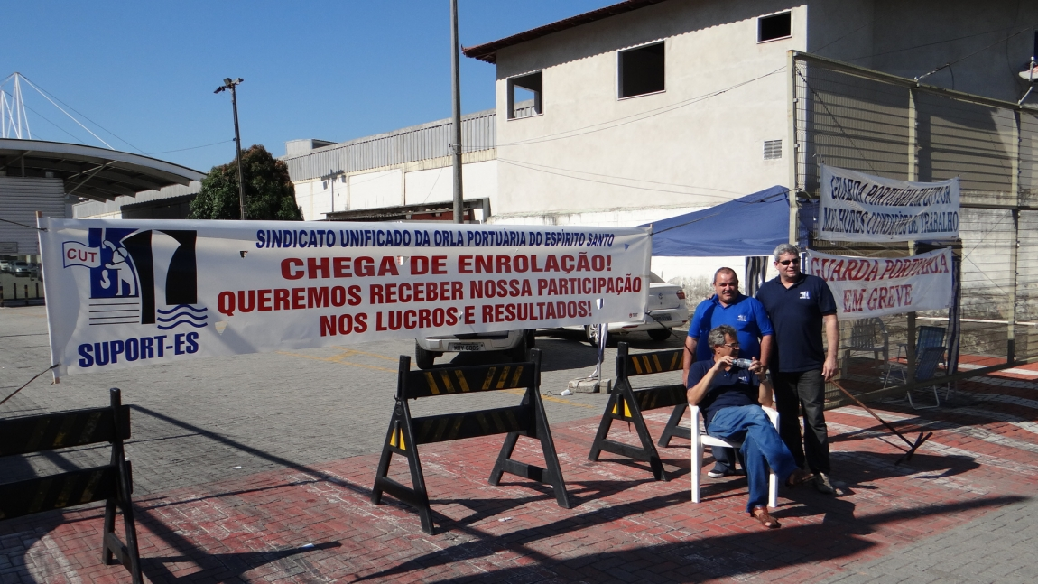 Imagem de Espírito Santo: Portuários na Codesa permanecem em greve até quinta (4)