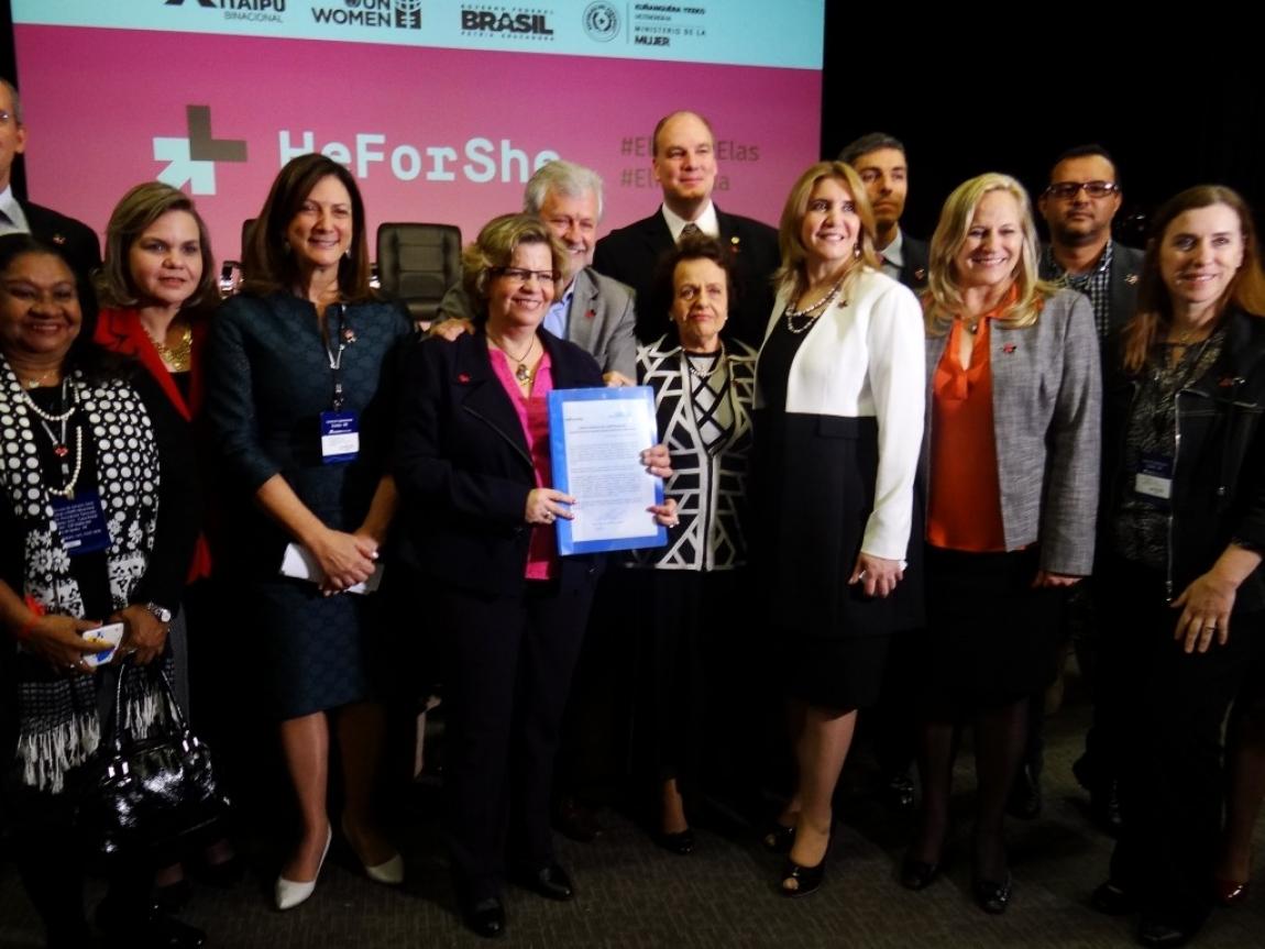 Imagem de ONU Mulheres e parceiros criam Comitê Brasil ElesPorElas