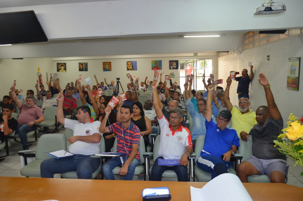 Imagem de Resistência à Lei Trabalhista: Trabalhadores em Transportes aprovam ações imediatas para barrar qualquer ataque aos direitos