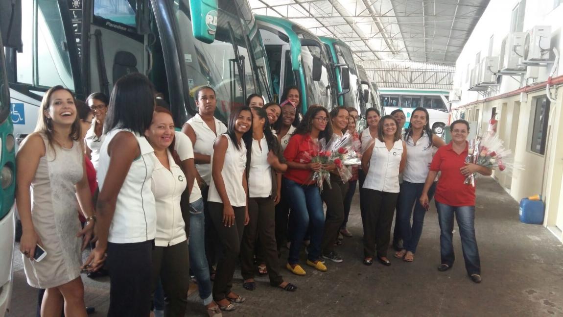 Imagem de Bahia: Rodoviárias celebram o Dia Internacional das Mulheres