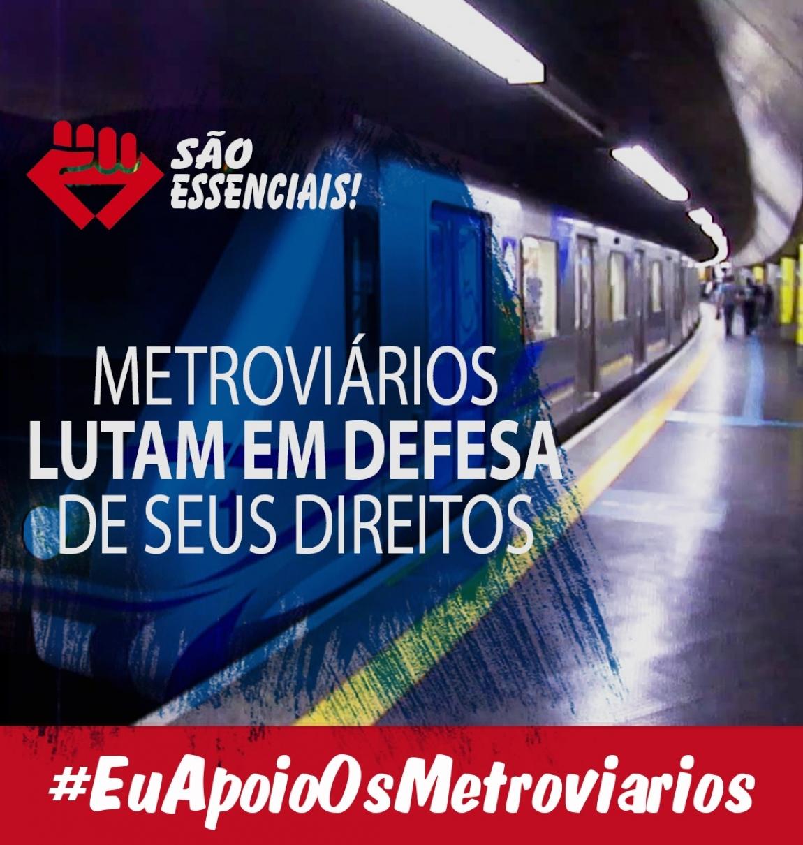 Imagem de Audiência com TRT não avança e metroviários de SP podem parar nesta terça-feira (28)