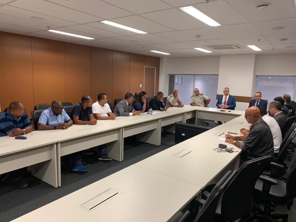 Imagem de Salvador: Rodoviários se reúnem com Secretaria de Segurança Pública para debater medidas para reduzir criminalidade