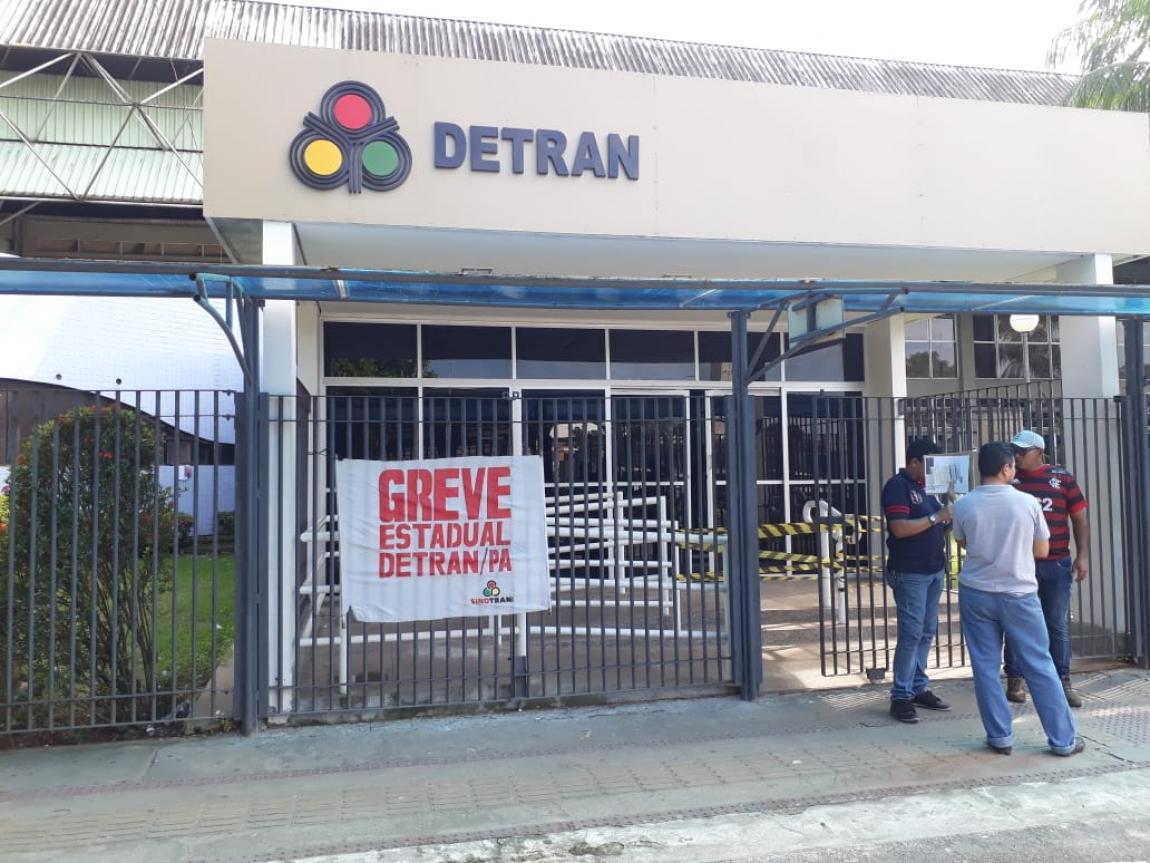Imagem de #GreveGeral Trabalhadores no Detran do Pará e mais 51 municípios aderem à paralisação contra a reforma da Previdência