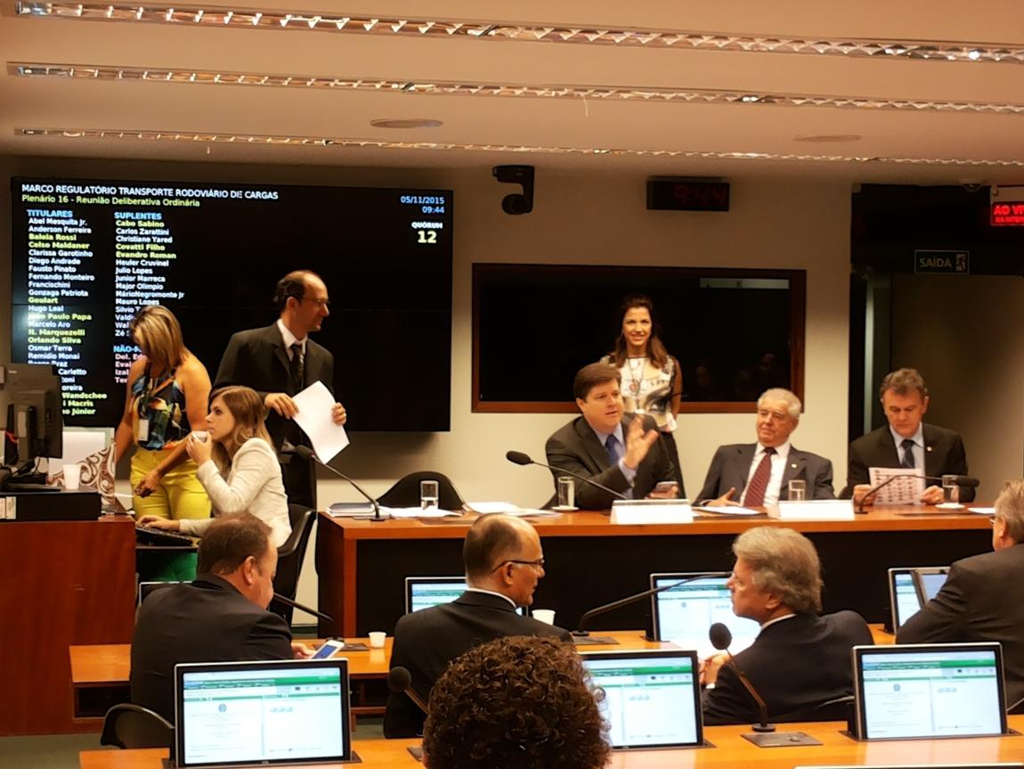 Imagem de Brasília: CNTTL/CUT participará de reunião da Comissão do Marco Regulatório de Transporte Rodoviário de Cargas