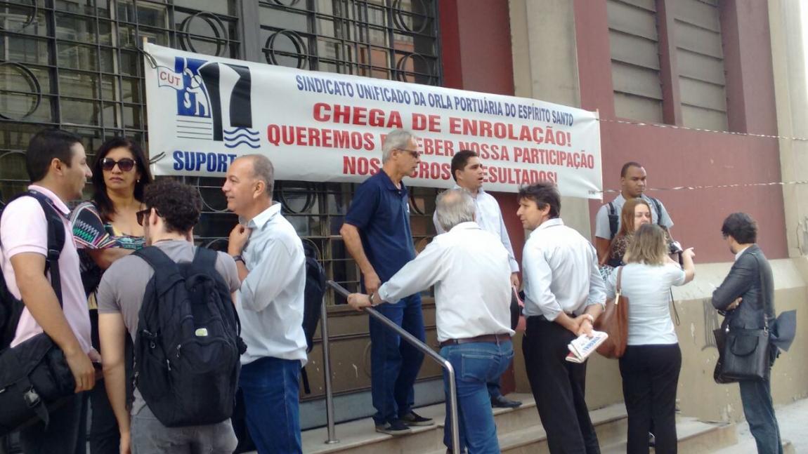 Imagem de Espírito Santo: Portuários na Codesa entram em greve nesta terça-feira (26)