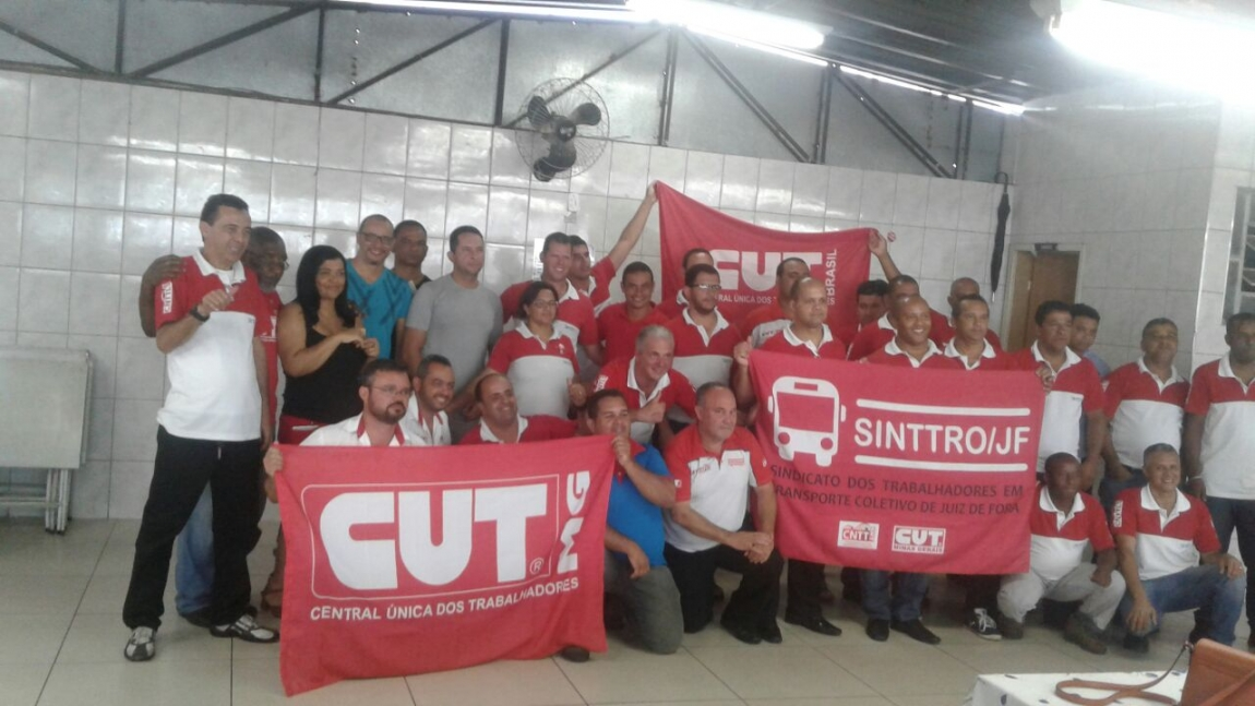 Imagem de Rodoviários de Juiz de Fora agora são CUT e CNTTL