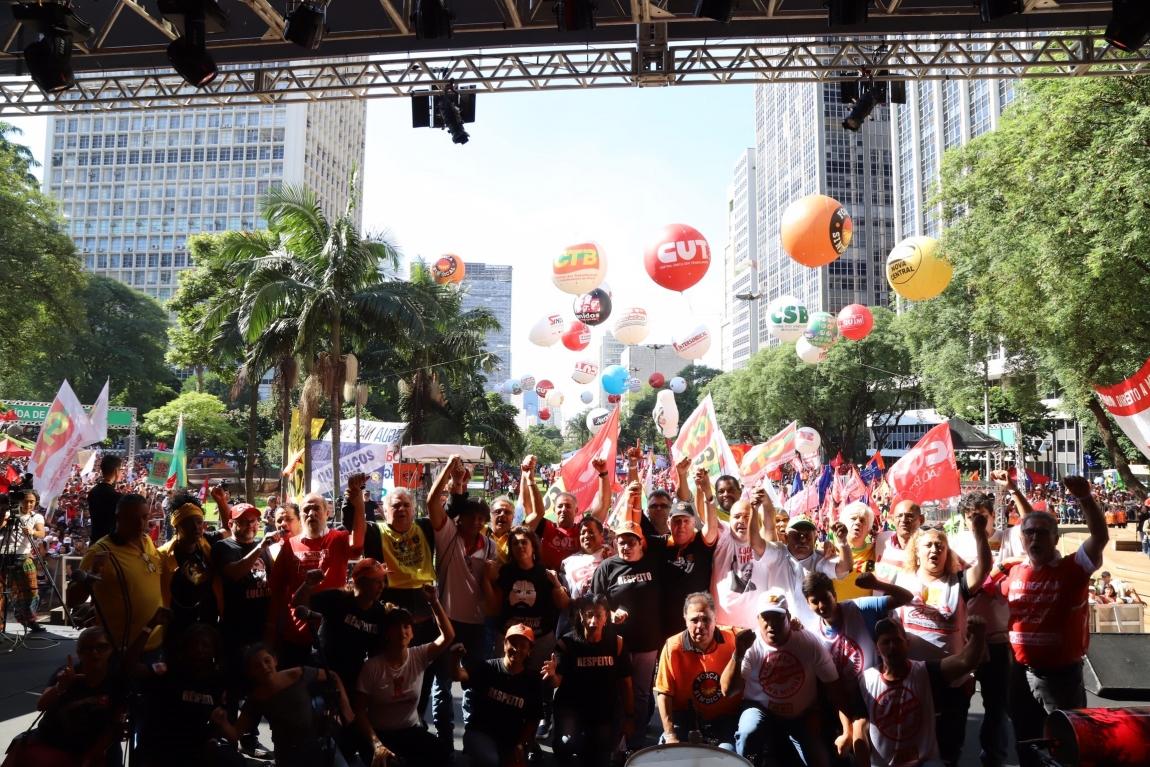 Imagem de Centrais sindicais farão 1º de Maio unificado com shows pela internet