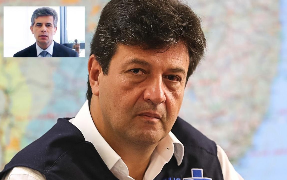 Imagem de Haddad, Humberto Costa e Pedro Uczai comentam saída de Mandetta nas redes sociais