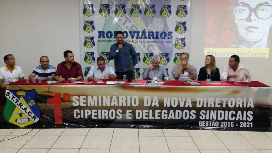 Imagem de Presidente da CNTTL/CUT participa de Seminário de Planejamento dos  Rodoviários de Campinas
