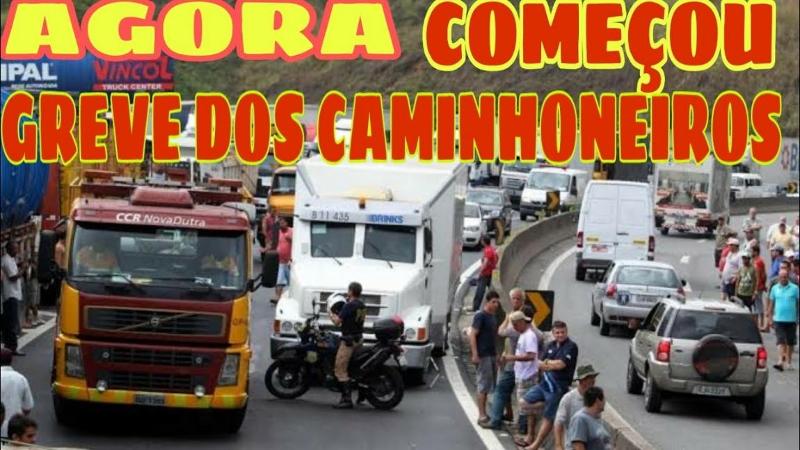Imagem de Caminhoneiros fecham porto de Santos e apoiam petroleiros