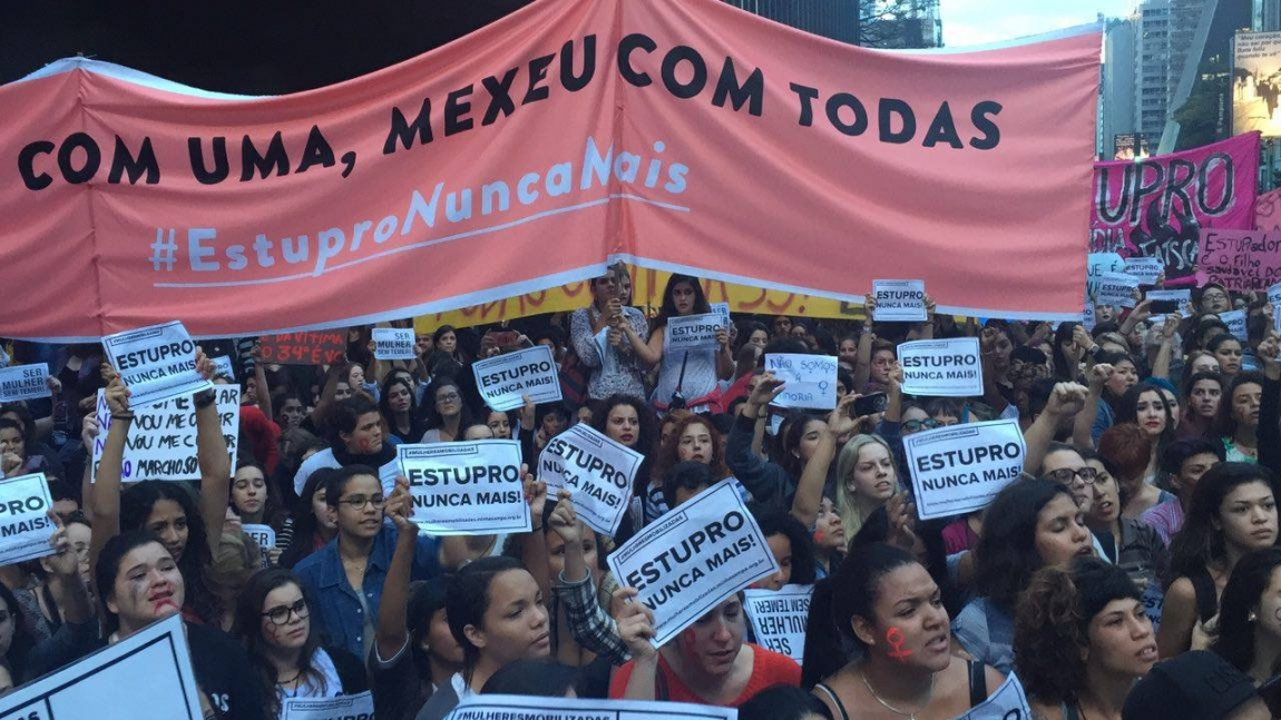 """Imagem de Ato """"Por Todas Elas"""" reúne  30 mil mulheres na Paulista"""