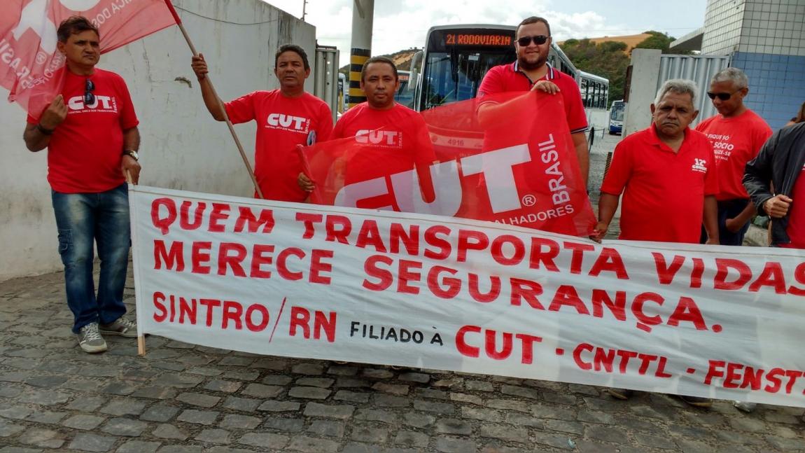 Imagem de RN: Contra falta de segurança, rodoviários farão protesto nesta sexta (11)