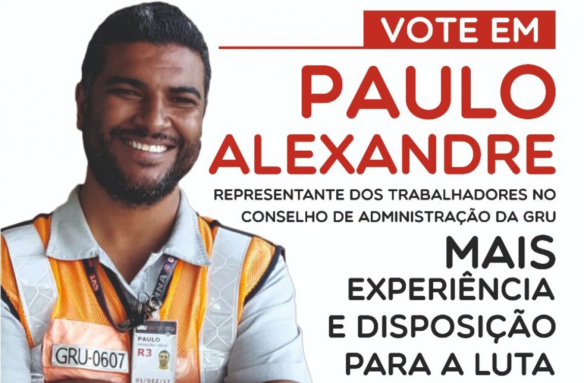 Imagem de Guarulhos: Paulo do Sina concorre na eleição do Conselho de Administração do GRU Airport