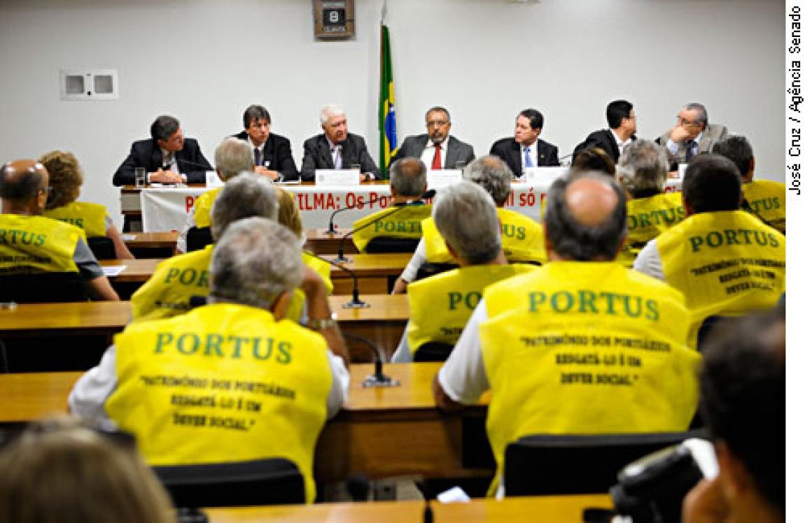 Imagem de Espírito Santo: Sindicato fará assembleia com portuários do Fundo Portus