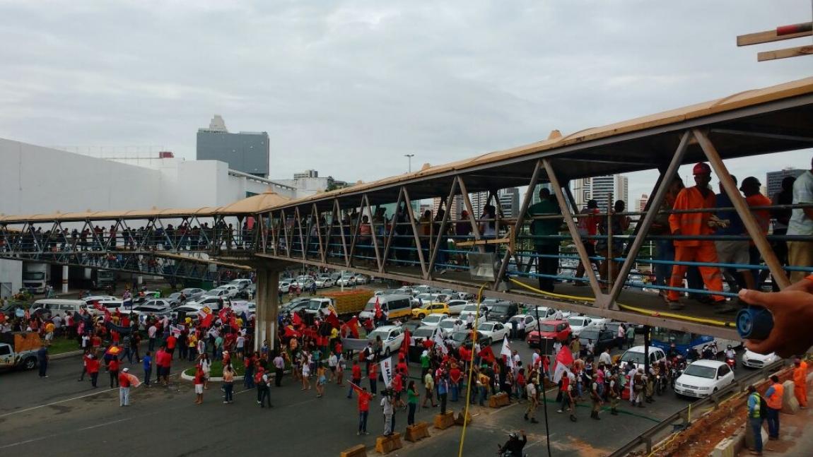 Imagem de #Greve Geral: Rodoviários param o transporte na Bahia nesta sexta-feira (11)