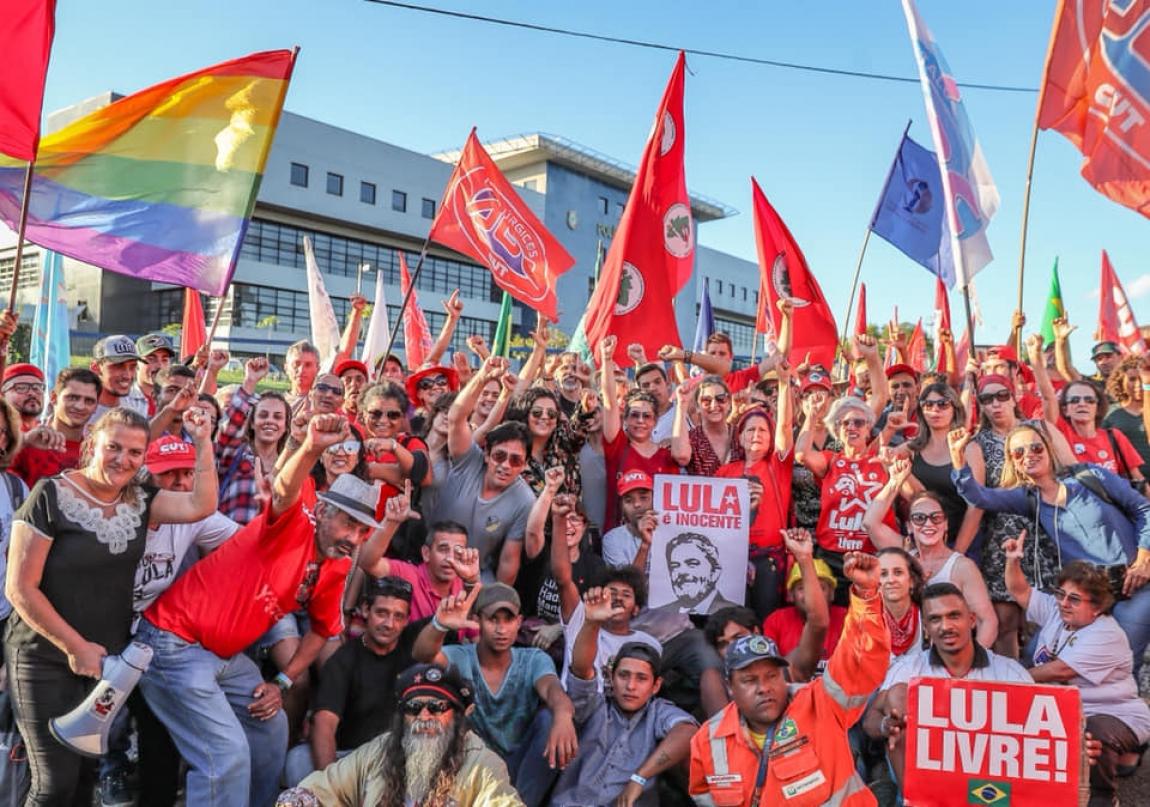 Imagem de #LulaLivre Campanha pela liberdade de Lula será relançada em Encontro Nacional