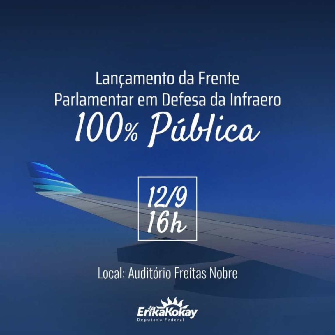 Imagem de Brasília: Frente Parlamentar em defesa da Infraero 100% pública será lançada