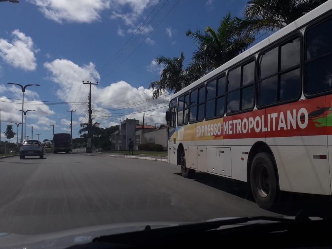 Imagem de #GreveGeral Em São Luís, Maranhão, rodoviários do transporte coletivo paralisaram as atividades desde as 4h