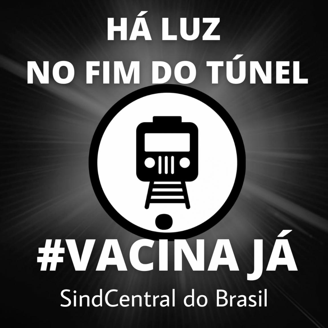 Imagem de Vacina Já: Ferroviários e metroviários param no dia 20 de abril