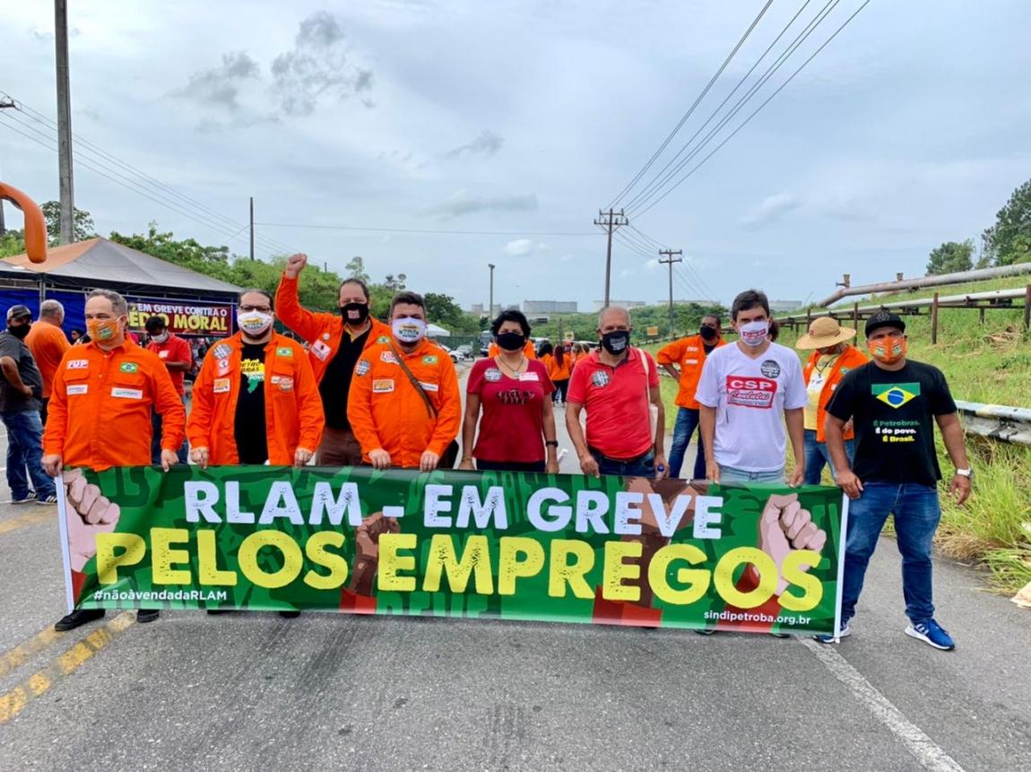Imagem de CNTTL apoia greve dos petroleiros contra privatização da Refinaria Landulpho Alves